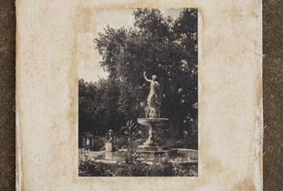 "Documents for Atget: ""Gumbel Memorial Fountain, Audubon Park"""
