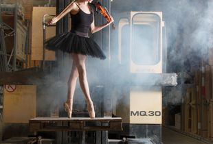 Love dance and violin