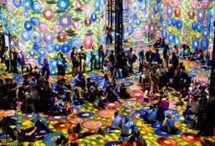 Immersive Klimt Exhibition