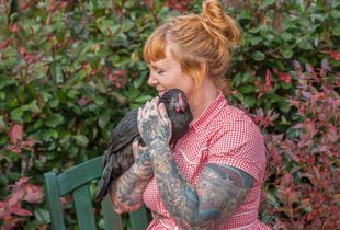 Emily and Jenny (Rooster Haus Rescue)