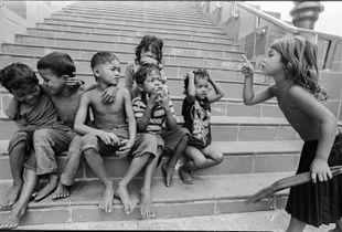 admonishing her tribe in Phnom Penh, Cambodia