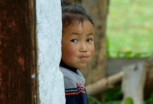 hide and seek in Bhutan