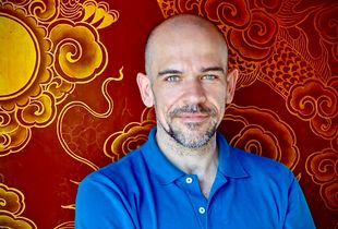 Colour Self-Portrait: In the Royal Palace at Hui (Vietnam)
