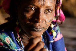 Fulani or Bororo woman of Cameroon