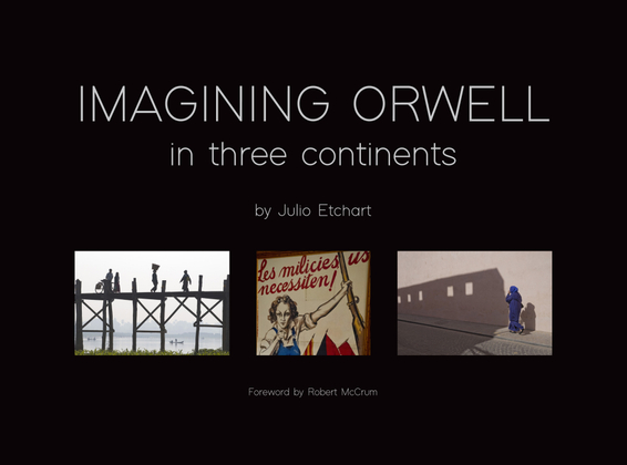 Imagining Orwell in Three Continents book cover