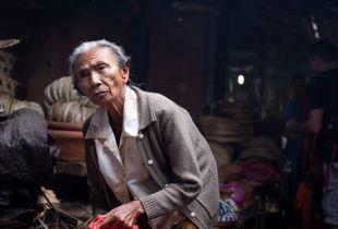 Balinese Market Lady