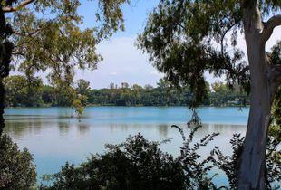 hexagonal lake