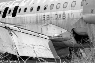 Nicosia International Airport                Aircraft of Cyprus Airways.