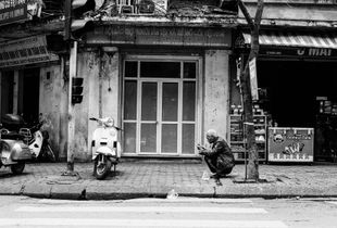 Street Sitting