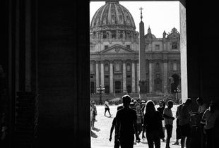 Shadows in the Vatican.
