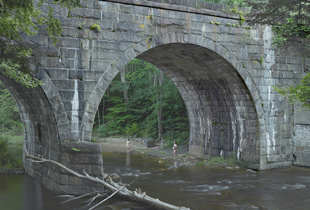 Beneath the Bridge, 2014. Digital pigment print. 37 1/2 x 50 inches. Edition of 3 plus 2 APs.