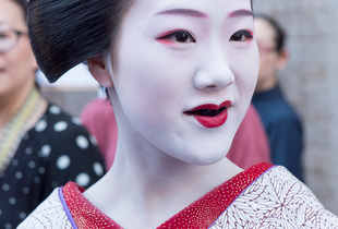 """Tomitae as a """"Maiko."""""""