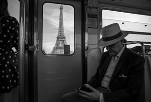Paris from the Metro Line 6