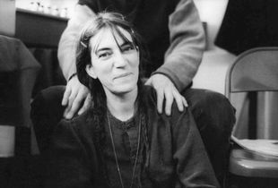 """From """"Two Times Intro: On the Road with Patti Smith"""", 1998, 2011 © Michael Stipe"""