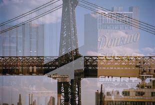 Williamsburg Bridge, Domino Sugar Factory Shadow.