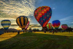1. Hamilton Hot Air Balloon Festival