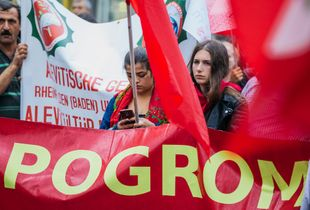 """""""Technology In The Time Of Pogroms"""" Syrian & Turkish Alawite Peace Demonstration"""