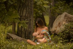 Mother, Nature. Maria and the child 2018
