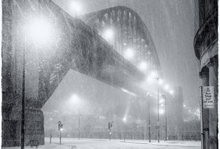Snow on the Tyne