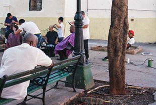 Barbershop in La Habana