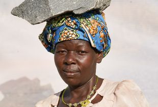 A. Janet: Age 38. Working in quarry for 10 years.