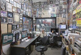 The Office at Gleason's Gym. Brooklyn, NY
