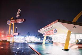 McDonalds Hamburger - Downey