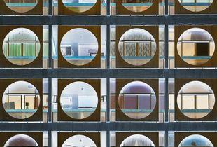 """<a href=""""https://andrewprokos.com/photo/inverted-modernist-circles-facade-abu-dhabi-1065/"""">Inverted – Circle Facade, Abu Dhabi</a>"""