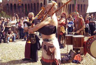 Celtic music players