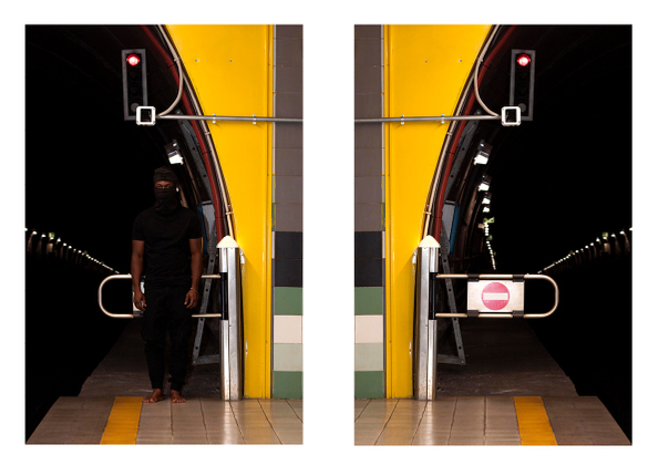 """""""Invisibility or Flashing II"""" ( Diptych 2)"""