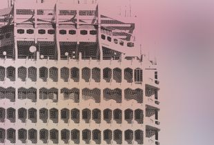 """100 AED note 'Dubai World Trade Center' from the series """"Bedouin Notes' Architecture"""""""