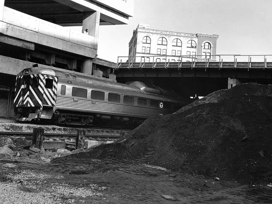 Train and Dirt Heap