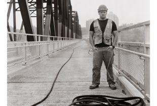 """Sean Robson-Kullman, age 21                                                              • Labourer  for Traffic Bridge construction, Saskatoon, Sask.                                                                                        • University student in Computer Science, University of Saskatchewan""              from Summer Jobs series"