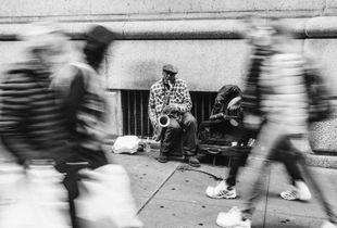NY street jazz