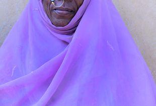 Somali refugee woman at the camp registration centre just after crossing the Sudanese borderShagarab refugee camp I, Kassala, Sudan, 2018
