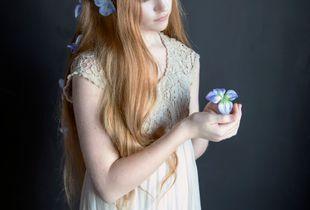Pale girl