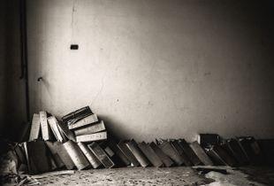 Folders. Former psychiatric hospital, 2014.