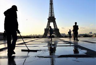 Marais salants à la Tour Eiffel