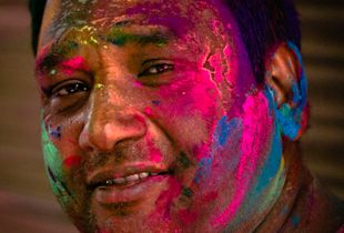 Colored man.