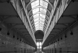 Old Melbourne Gaol.