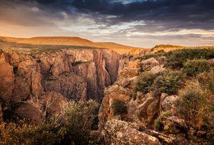 Black Canyon of the Gunnison River, Colorado, USA.