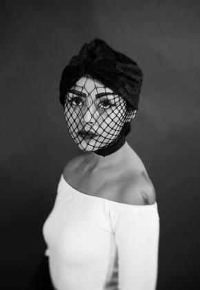 Fishnet Mask- Symmetry Series