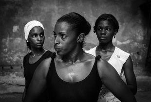 Trio of Afro-Cuban dancers