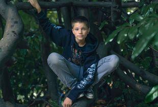 Zak, 13,  Isle of Wight. England. Transgender boy.