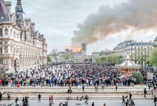 15 th April 2019, Notre-Dame de Paris.