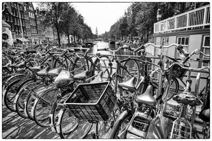 Canal Bridge Bike Rack