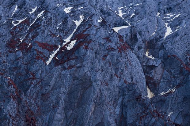 Alpine View - Melting Snow #28 (2020)