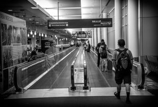Man Visits Airport