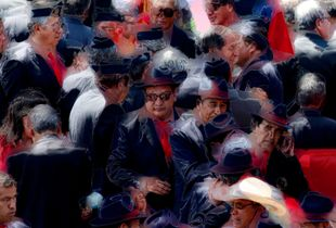 After the parade - Cusco