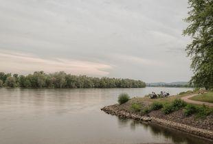 Along the river I